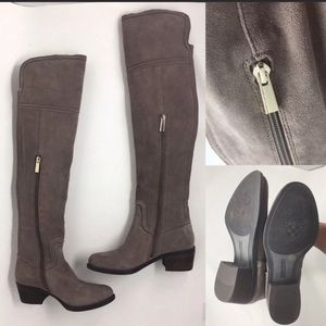 VINCE CAMUTO OVER THE KNEE BOOTS SIZE 5.